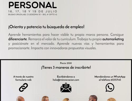 Marca personal: Orienta y potencia tu búsqueda de empleo